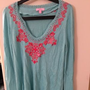 GUC Lilly Pulitzer sweater
